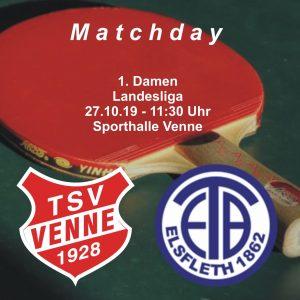 TSV Venne - Elsflether TB @ Sporthalle Venne