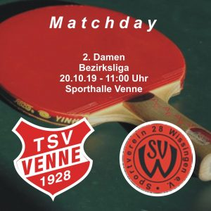TSV Venne - SV Wissingen @ Sporthalle Venne