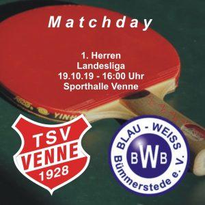 TSV Venne - BW Bümmerstede @ Sporthalle Venne