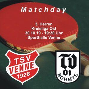 TSV Venne - TV Bohmte @ Sporthalle Venne