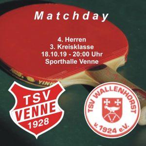 TSV Venne - TSV Wallenhorst