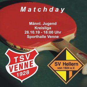TSV Venne - SV Hellern @ Sporthalle Venne
