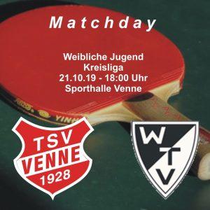 TSV Venne - TV Wellingholzhausen @ Sporthalle Venne