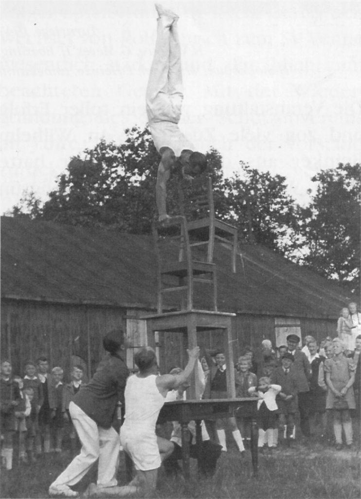 Turnerische Akrobatik, 1946