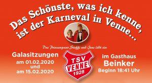 1. Galasitzung @ Gasthaus Beinker