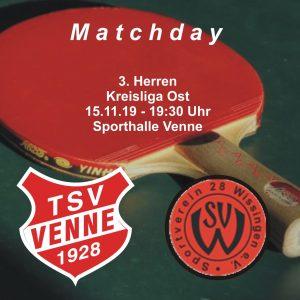 TSV Venne III - SV Wissingen IV @ Sporthalle Venne
