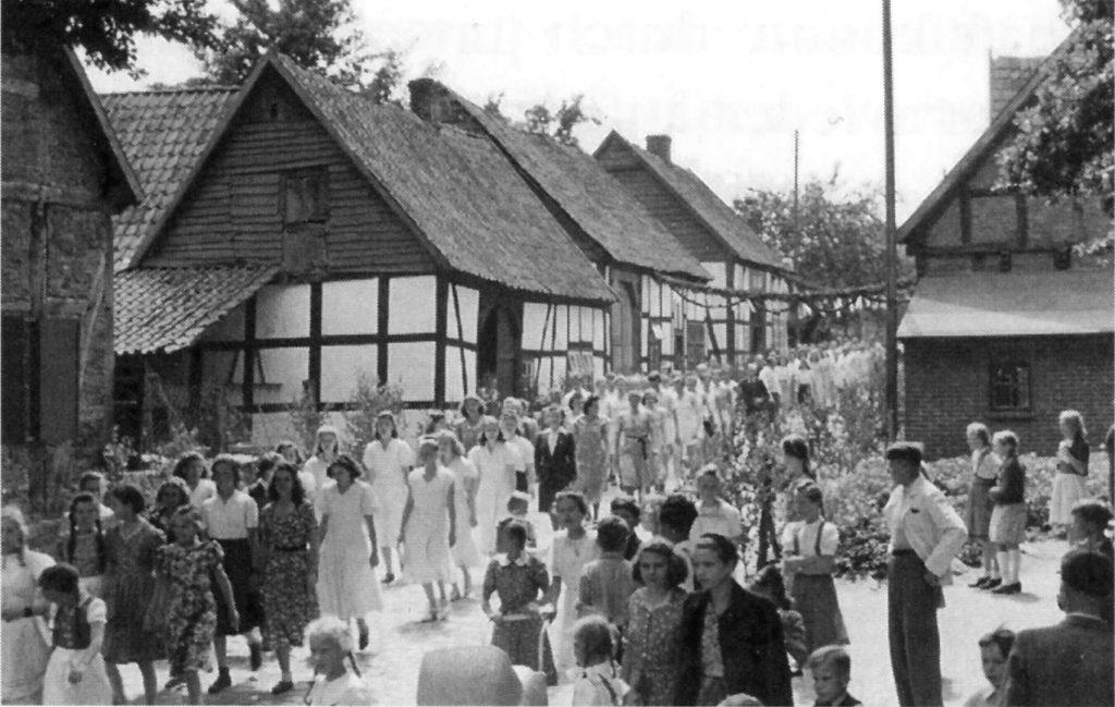 Umzug Kreisturnfest, 1949