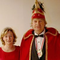 Steffi I und Jens I steuern das Narrenschiff der Karnevallisten in dieser Session