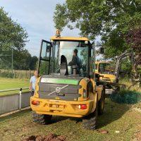 Sanierungsmaßnahmen im Mühlenbachstadion
